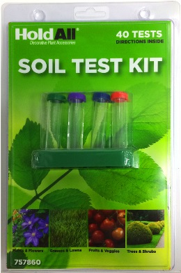 Soil test kit, purchased at Lowes.
