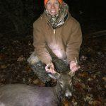 Adam's first buck!