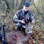 Chris with his first buck!