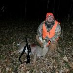 Bart's first deer.