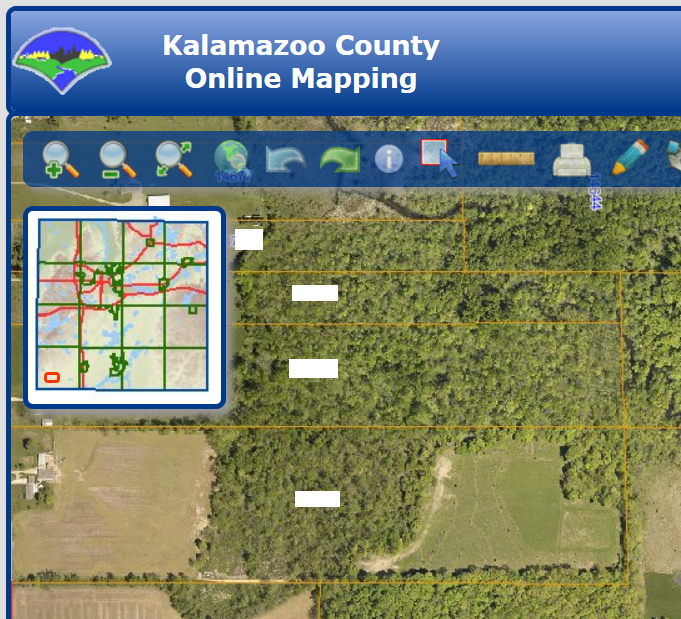 County GIS maps are a great tool for locating land owners and property lines.