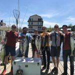2018 Salmon fishing charter.